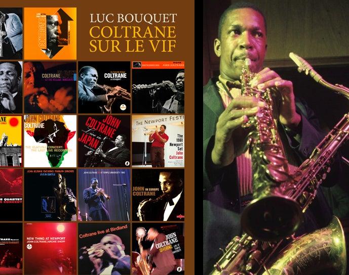 Image of Coltrane sur le vif de Luc Bouquet
