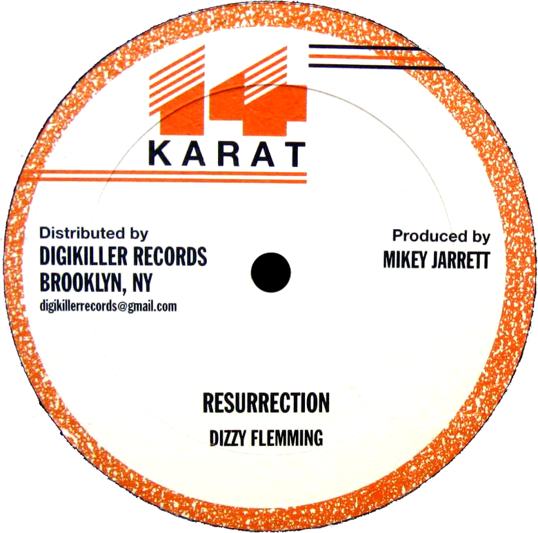 "Image of Dizzy Flemming / Mikey Jarrett - Resurrection / Starvation 12"" (14 Karat)"
