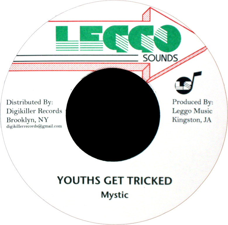 "Image of Mystic - Youths Get Tricked 7"" (Leggo Sounds)"