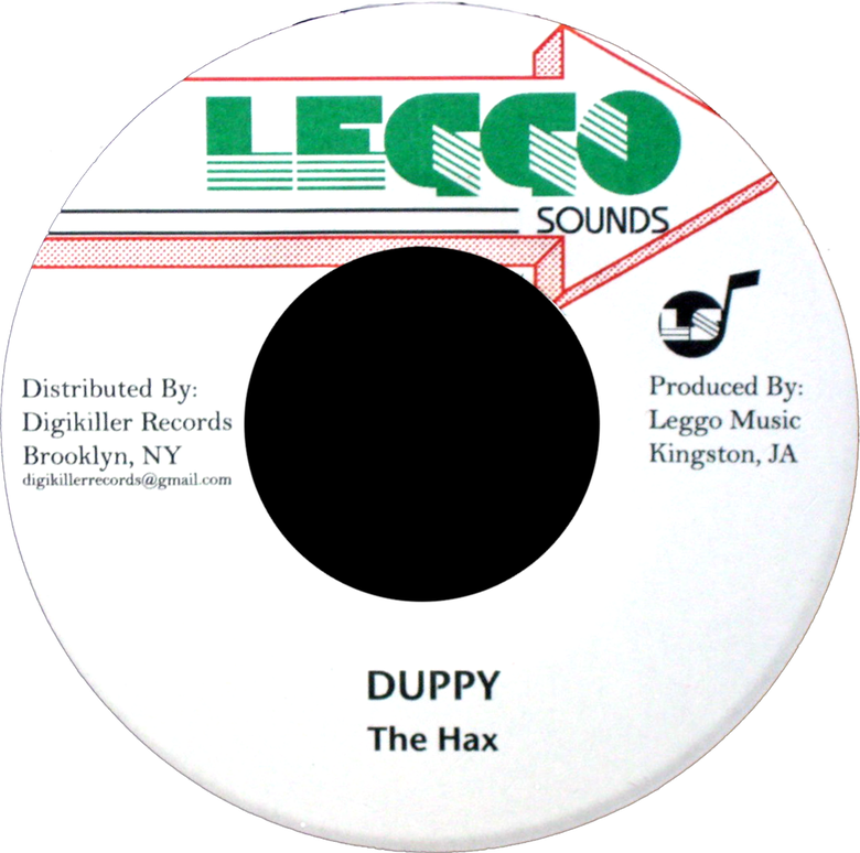 "Image of The Hax - Duppy 7"" (Leggo Sounds)"