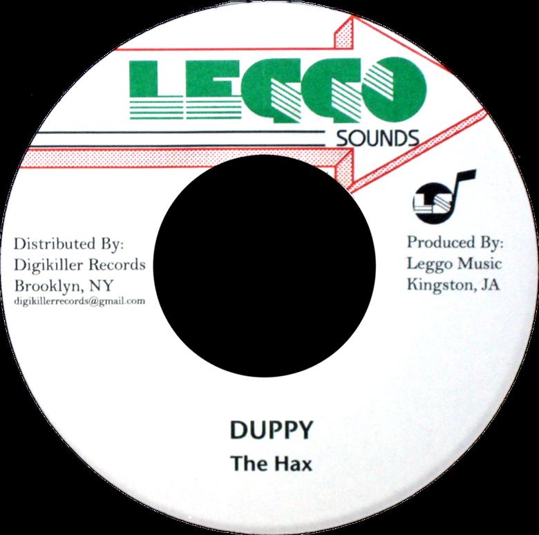 "Image of The Hax - Duppy 7"" (Leggo Sounds)"