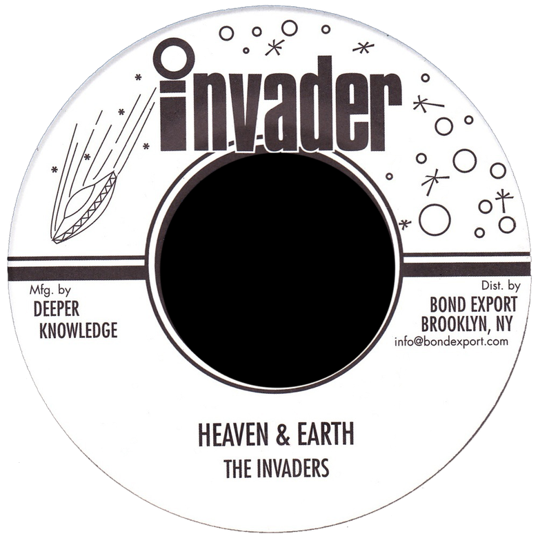 "Image of Invaders - Heaven & Earth 7"" (Invader)"