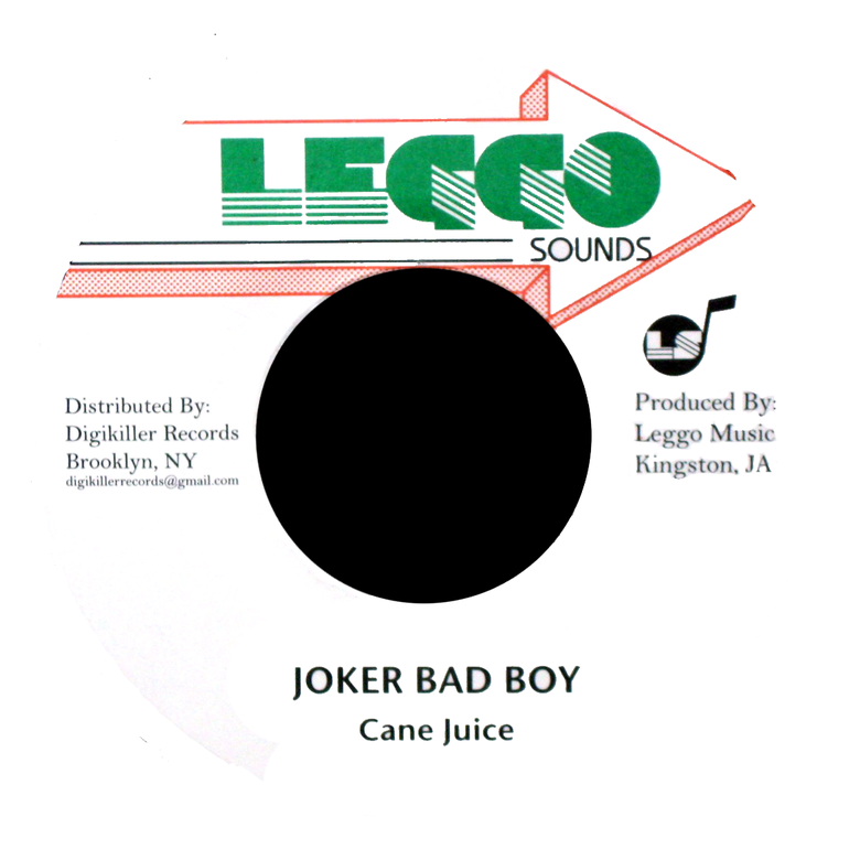 "Image of Cane Juice - Joker Bad Boy 7"" (Leggo Sounds)"