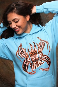 Image of Spiritual Allies / Hoodie - Carolina Blue