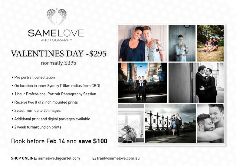 Image of Valentines Day Promotion - Save $100