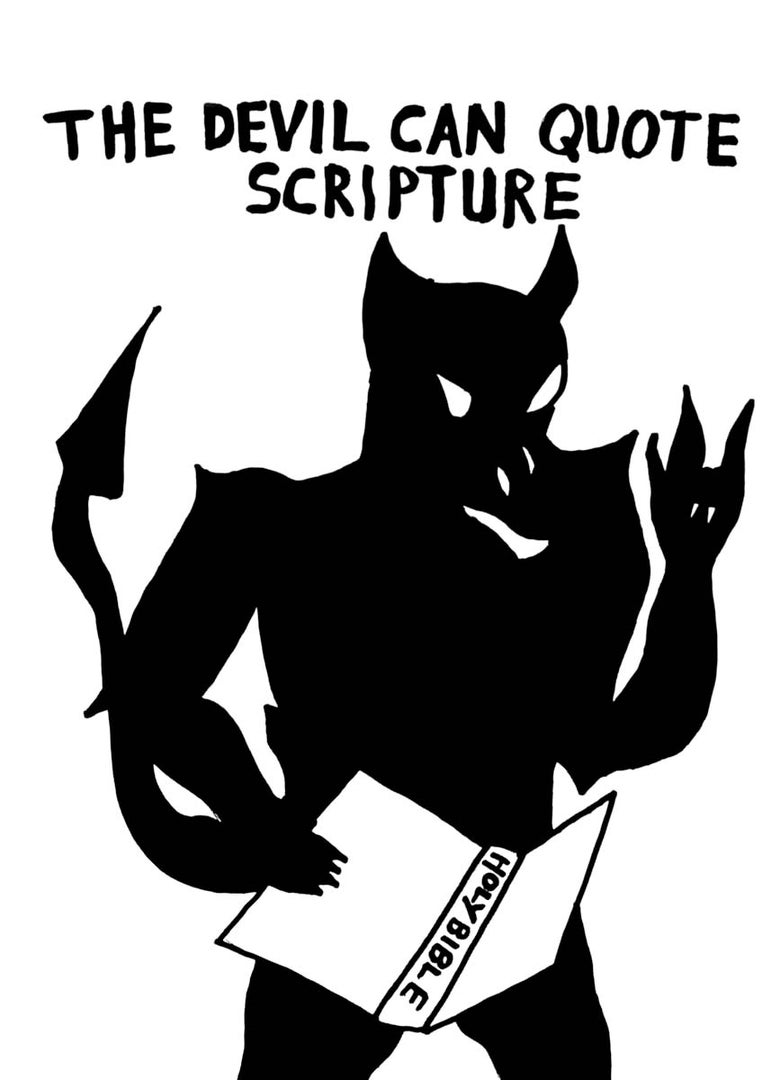Image of The Devil Can Quote Scripture