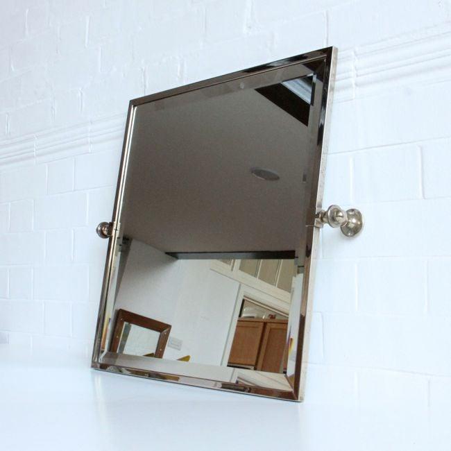 Image of Large Square Art Deco mirror