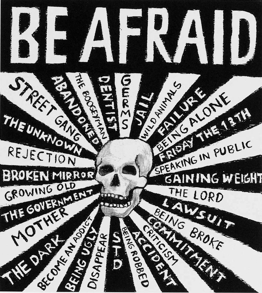 Image of Be Afraid