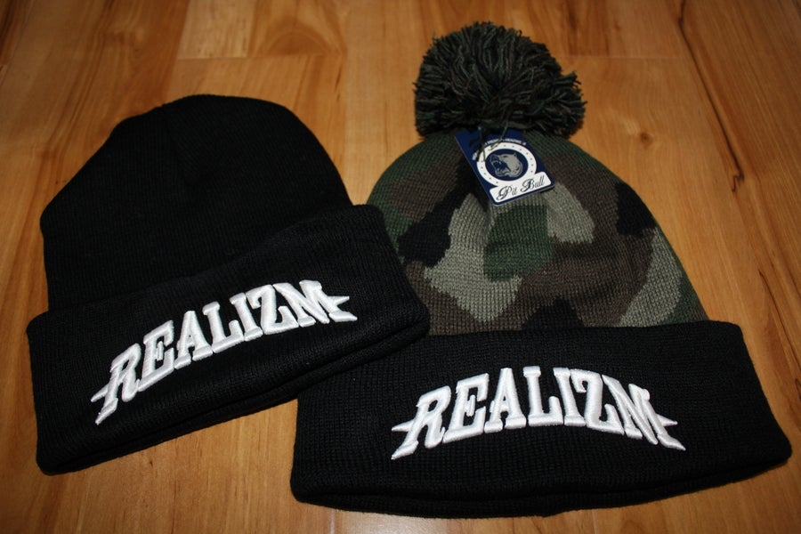 "Image of ""Realizm"" Beanies"