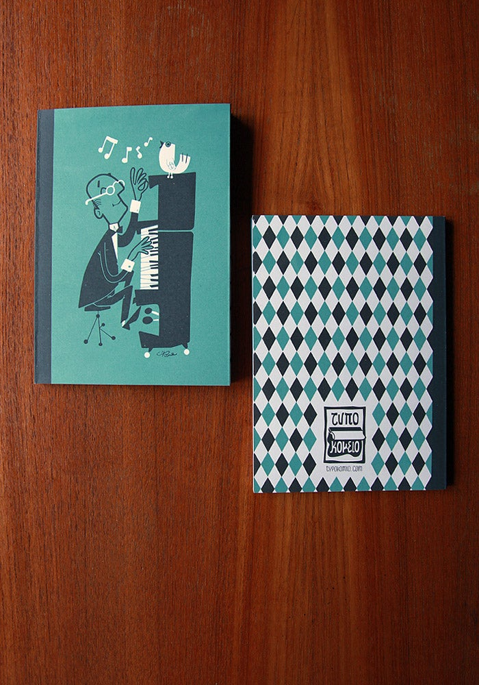 "Image of ""Teach the bird to sing"" notebook"
