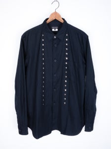 Image of Comme des Garcons Homme Plus - Studded Front Button Up Shirt