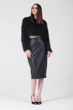 Image of Fur Crop Top