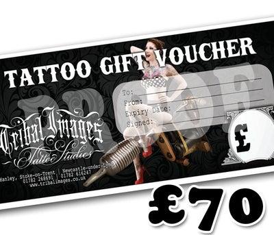 £70 Gift Voucher - Tribal Images