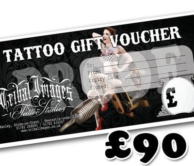 £90 Gift Voucher - Tribal Images