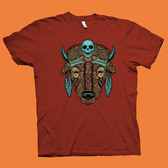 "Image of ""BUFFALO"" SPIRIT ANIMAL T-shirt"