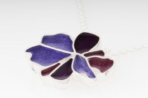 Image of Resinate Sterling Silver Hanna Pendant