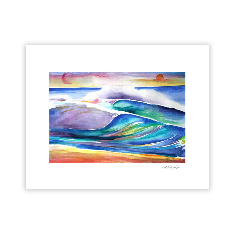 Image of Double Wave, Archival Paper Print