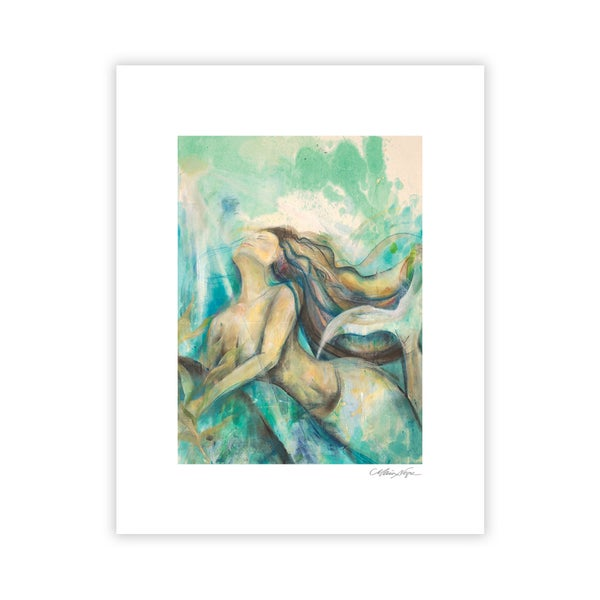 Image of Mermaid 4, Archival Paper Print