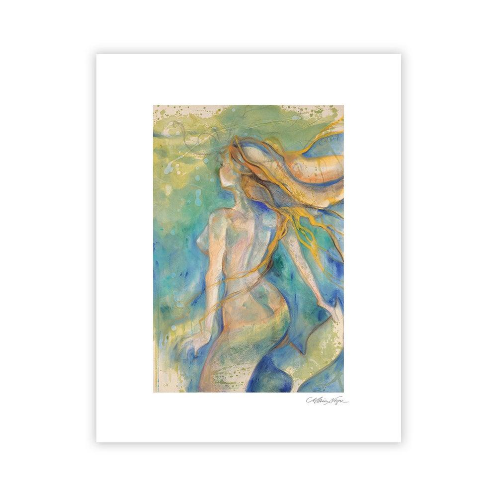 Image of Mermaid 5, Archival Paper Print
