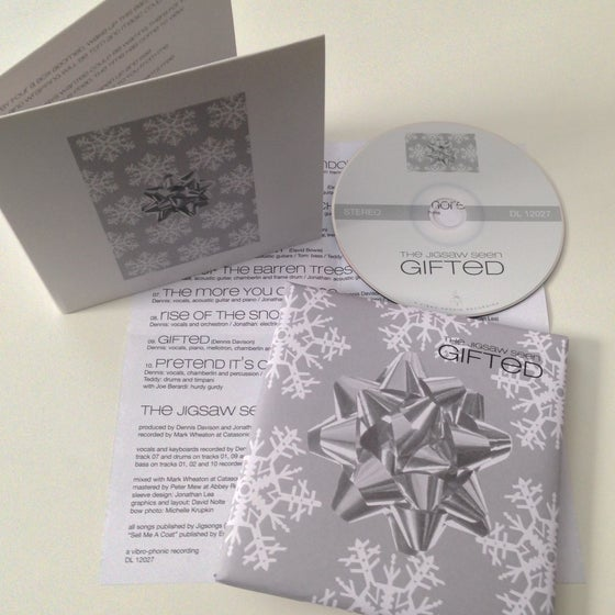"""Image of """"Gifted"""" CD"""