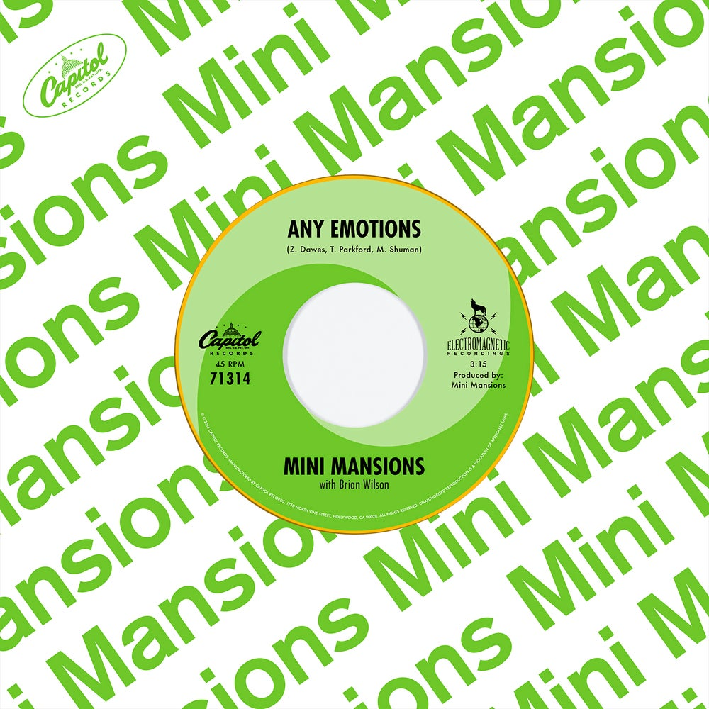 Image of Mini Mansions Any Emotions 7""