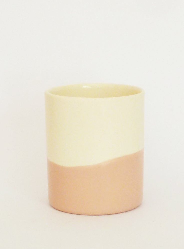Image of PEACH WASH BEAKER (MEDIUM)