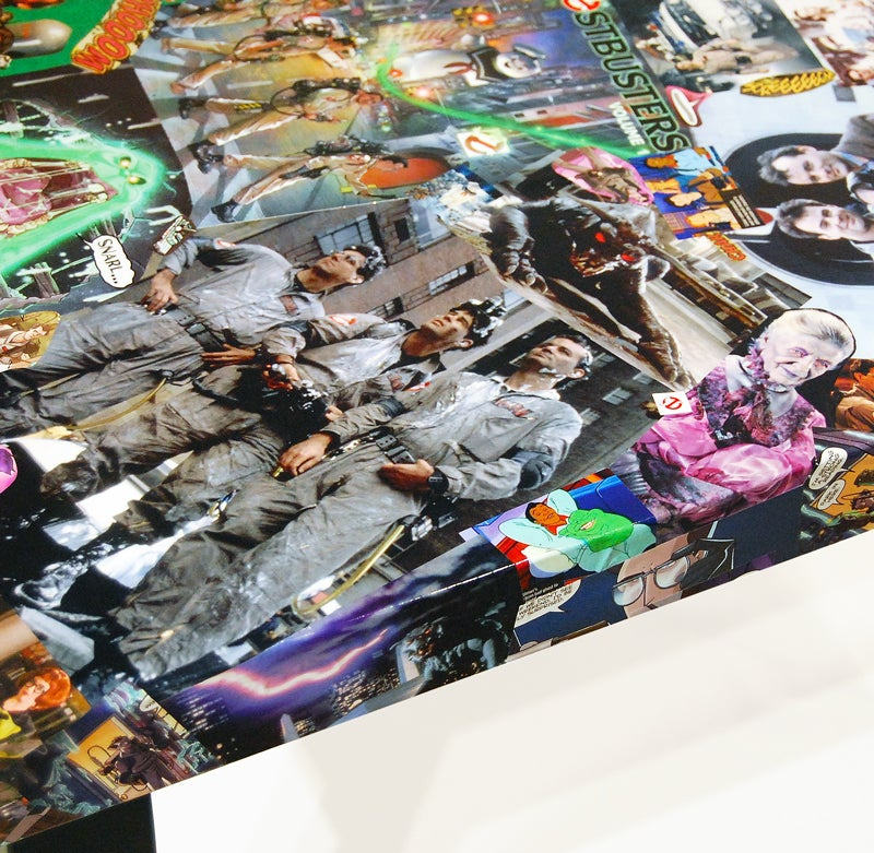 Image of Ghostbusters 1st Variant Comic Collage Table