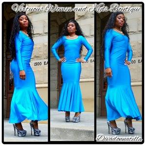 Image of royal mermaid dress