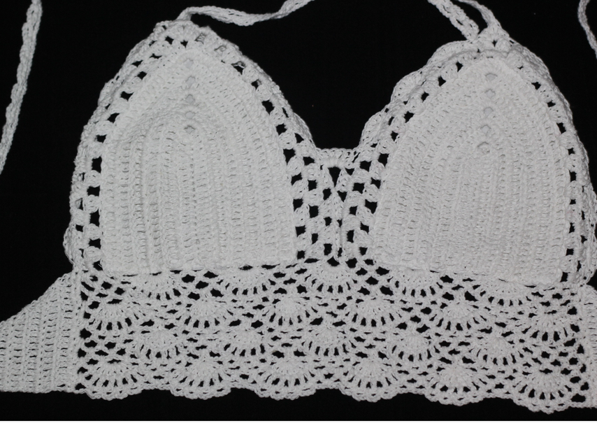Image of CUTE KNITWEAR TOP LACE