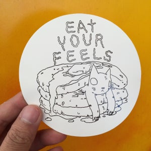Image of Eat Your Feels Sticker