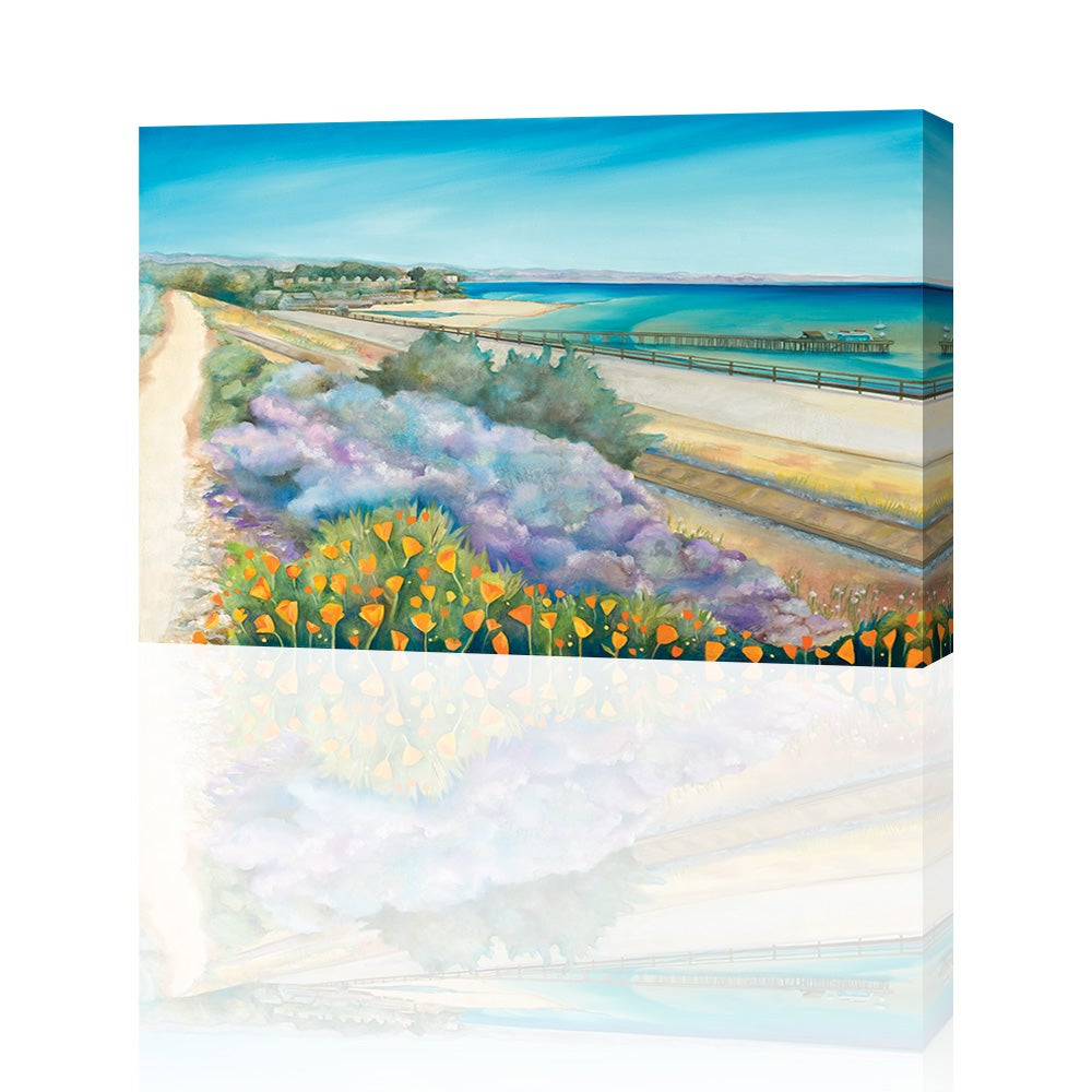 Image of Capitola Pathway Giclee Print