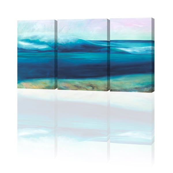 Image of More Ocean Triptych Giclee Prints