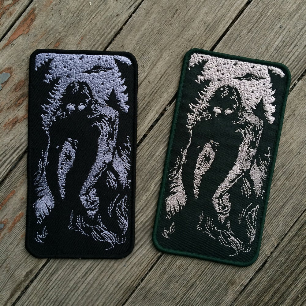 Image of SASQUATCH patch -almost gone?!-