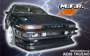 Image of MFR GOOD LINE AE86 TRUENO FRONT