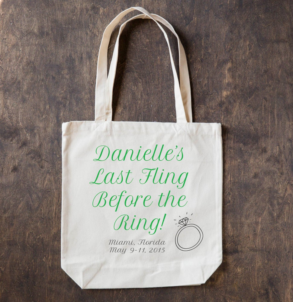 Image of Bachelorette Totes