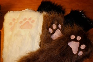 Image of Furry Paws LAST ONES!