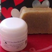 Image of Chocolate Rose Shea Cream with Organic Calendula Oatmeal Soap
