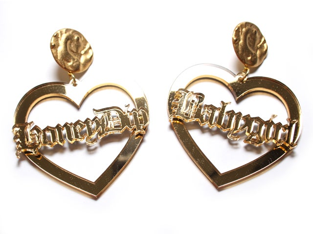 Image of Custom Sweetheart Earrings