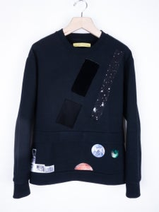 Image of Raf Simons x Sterling Ruby - Double Sweater with Patches