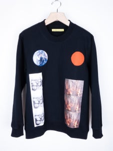 Image of Raf Simons x Sterling Ruby - Earth/Stalactite Sweatshirt