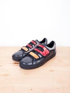 Image of Raf Simons - Embossed Effect Velcro Sneakers