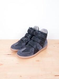 Image of Maison Martin Margiela - Vintage Suede Velcro Sneakers