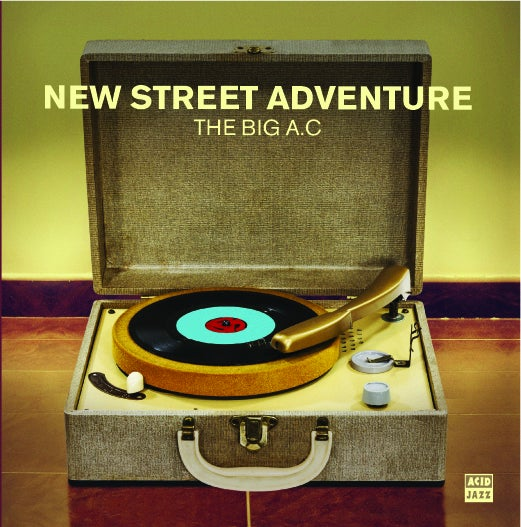 "Image of New Street Adventure - The Big AC - 7"" Single"