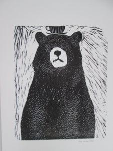 """image de Dessin """"L'ours et la tasse'"""