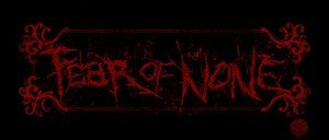 Image of Fear of None Logo Bumper Sticker