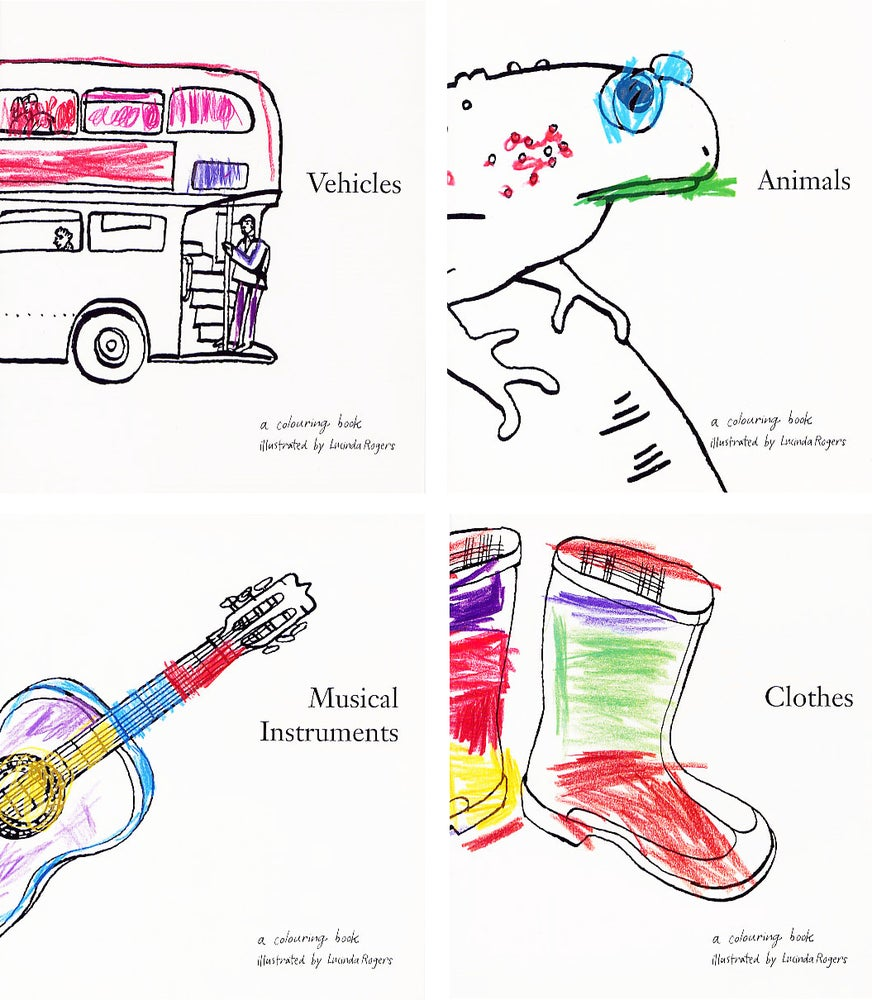 Image of Colouring Books