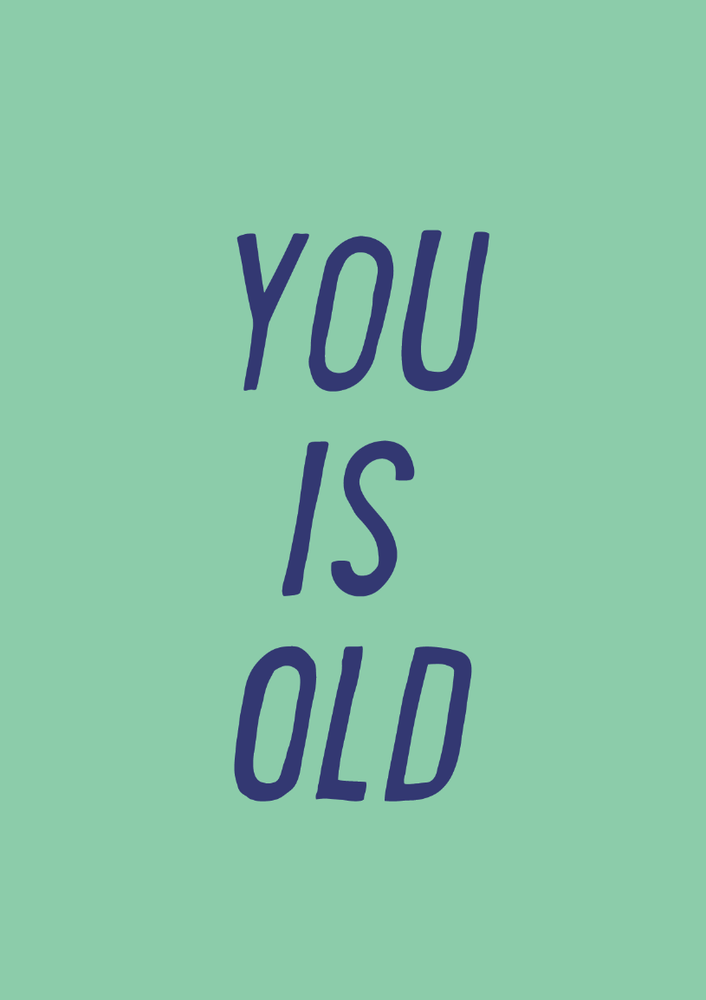 Image of you is old