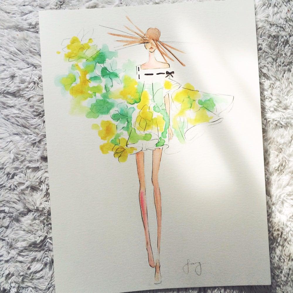 Image of Watercolor Custom Piece