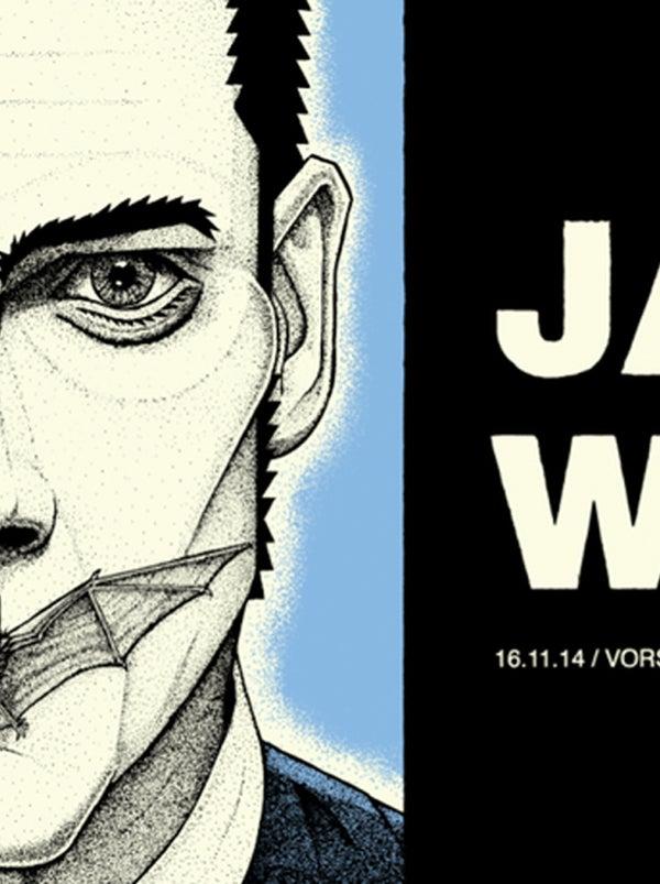 Image of Jack White. Brussels, Belgium. 2014
