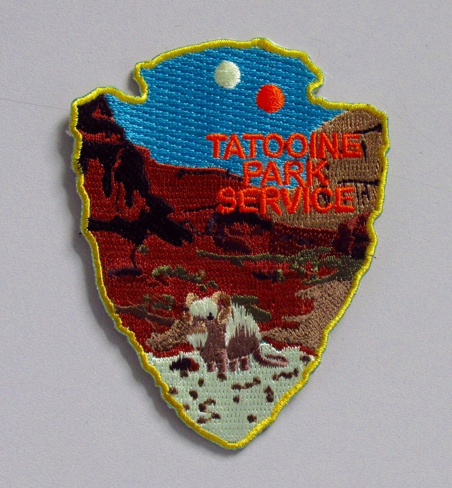 Image of Tatooine Park Service Series #3 Patch